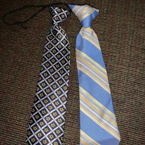 2 infant/toddler ties